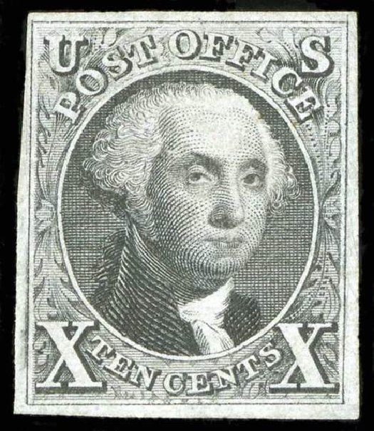 US Stamp Value Scott 4: 10c 1875 Washington. Spink Shreves Galleries, Jul 2015, Sale 151, Lot 19