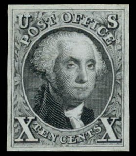 Cost of US Stamp Scott Catalog 4: 10c 1875 Washington. Daniel Kelleher Auctions, Aug 2015, Sale 672, Lot 2111