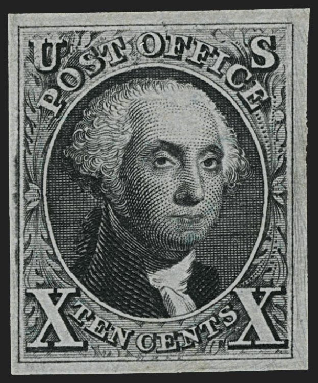 Value of US Stamp Scott Cat. #4: 10c 1875 Washington. Robert Siegel Auction Galleries, Jul 2015, Sale 1107, Lot 51