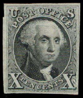 Cost of US Stamps Scott Catalog 4: 1875 10c Washington. Daniel Kelleher Auctions, May 2015, Sale 669, Lot 2364