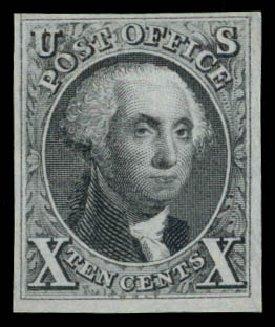 Prices of US Stamps Scott Catalogue 4 - 10c 1875 Washington. Daniel Kelleher Auctions, Dec 2014, Sale 661, Lot 15