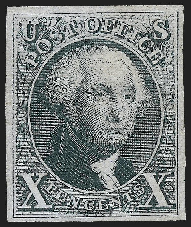 Value of US Stamps Scott Catalogue # 4 - 10c 1875 Washington. Robert Siegel Auction Galleries, Jul 2015, Sale 1107, Lot 52