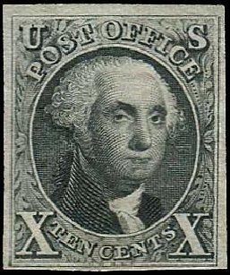Value of US Stamp Scott Catalogue 4 - 1875 10c Washington. Regency-Superior, Nov 2014, Sale 108, Lot 36