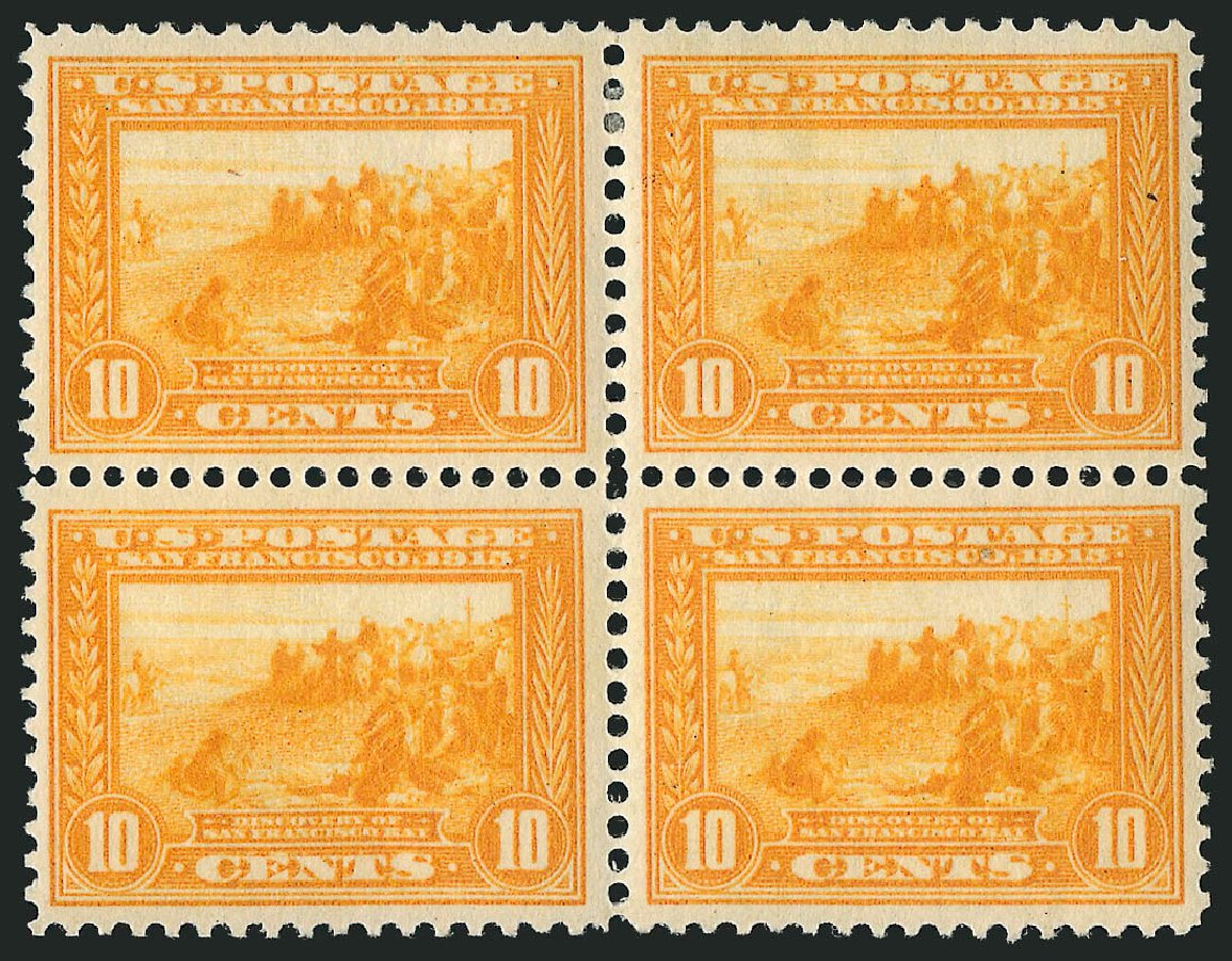Price of US Stamp Scott # 400 - 10c 1913 Panama-Pacific Exposition. Robert Siegel Auction Galleries, Apr 2015, Sale 1096, Lot 647