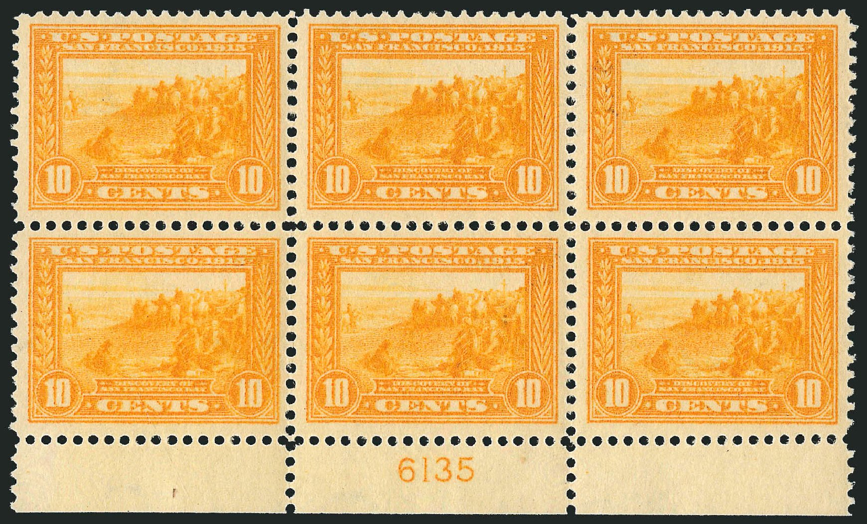Prices of US Stamps Scott Catalogue #400: 1913 10c Panama-Pacific Exposition. Robert Siegel Auction Galleries, Feb 2015, Sale 1093, Lot 240