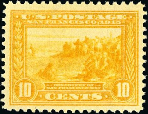 Price of US Stamps Scott #400: 10c 1913 Panama-Pacific Exposition. Spink Shreves Galleries, Jan 2015, Sale 150, Lot 161