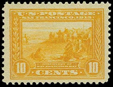 Price of US Stamps Scott # 400 - 1913 10c Panama-Pacific Exposition. H.R. Harmer, Jun 2015, Sale 3007, Lot 3325