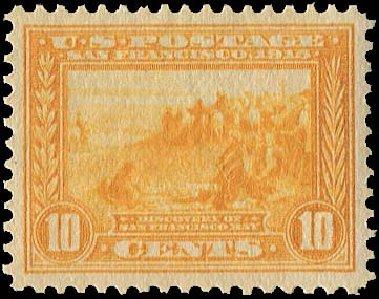 Price of US Stamps Scott 400: 1913 10c Panama-Pacific Exposition. Regency-Superior, Nov 2014, Sale 108, Lot 795