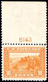 Values of US Stamps Scott 400A: 1913 10c Panama-Pacific Exposition. Schuyler J. Rumsey Philatelic Auctions, Apr 2015, Sale 60, Lot 2808