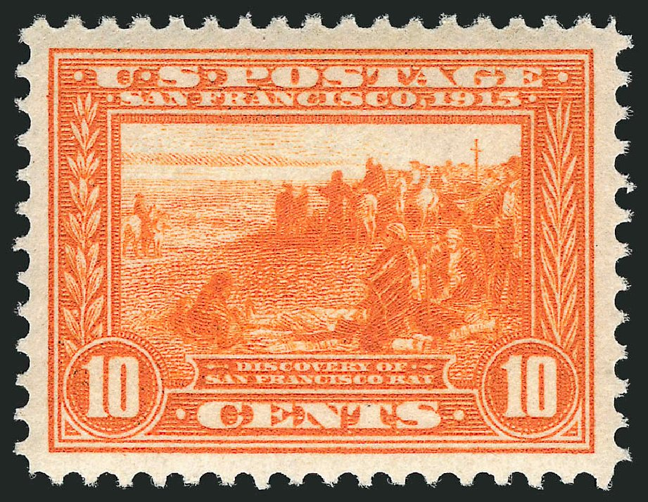 Price of US Stamps Scott Catalog 400A - 10c 1913 Panama-Pacific Exposition. Robert Siegel Auction Galleries, Apr 2015, Sale 1096, Lot 649