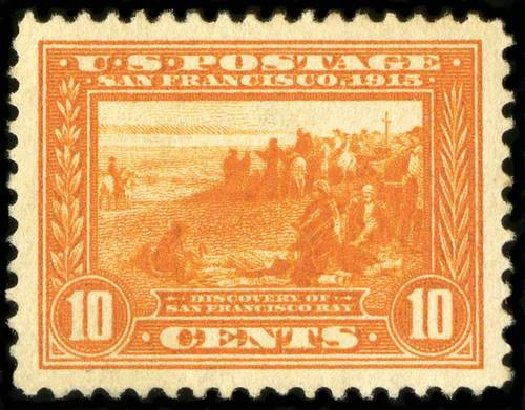 Price of US Stamp Scott Catalog 400A: 1913 10c Panama-Pacific Exposition. Spink Shreves Galleries, Jul 2015, Sale 151, Lot 289