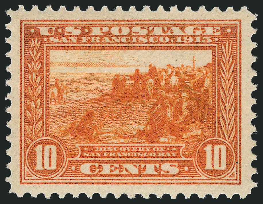 Costs of US Stamp Scott Cat. 400A - 1913 10c Panama-Pacific Exposition. Robert Siegel Auction Galleries, Dec 2014, Sale 1090, Lot 1490