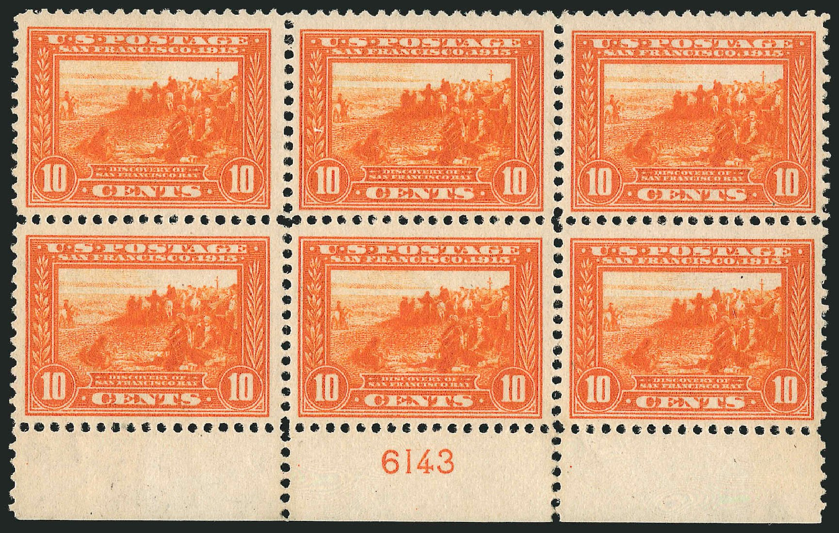 Price of US Stamps Scott Cat. 400A - 1913 10c Panama-Pacific Exposition. Robert Siegel Auction Galleries, Apr 2015, Sale 1096, Lot 650