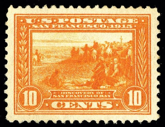 Costs of US Stamp Scott Catalogue # 400A - 1913 10c Panama-Pacific Exposition. Spink Shreves Galleries, May 2014, Sale 148, Lot 290