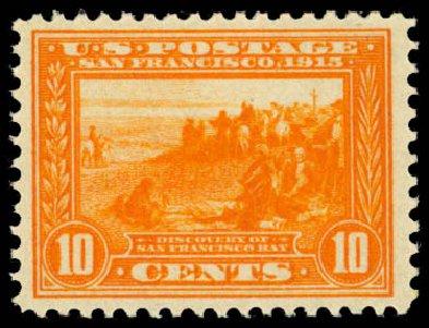Price of US Stamps Scott Catalog 400A: 10c 1913 Panama-Pacific Exposition. Daniel Kelleher Auctions, Oct 2014, Sale 660, Lot 2361