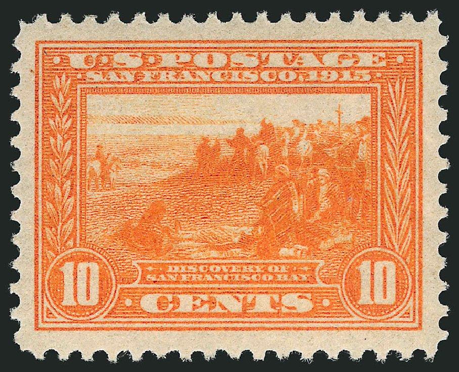 Value of US Stamps Scott Catalog 400A - 10c 1913 Panama-Pacific Exposition. Robert Siegel Auction Galleries, Sep 2014, Sale 1078, Lot 501