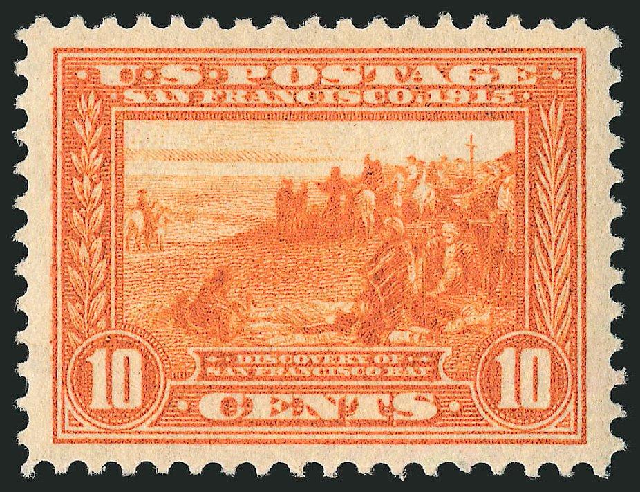 US Stamps Values Scott # 400A: 1913 10c Panama-Pacific Exposition. Robert Siegel Auction Galleries, Dec 2014, Sale 1090, Lot 1491
