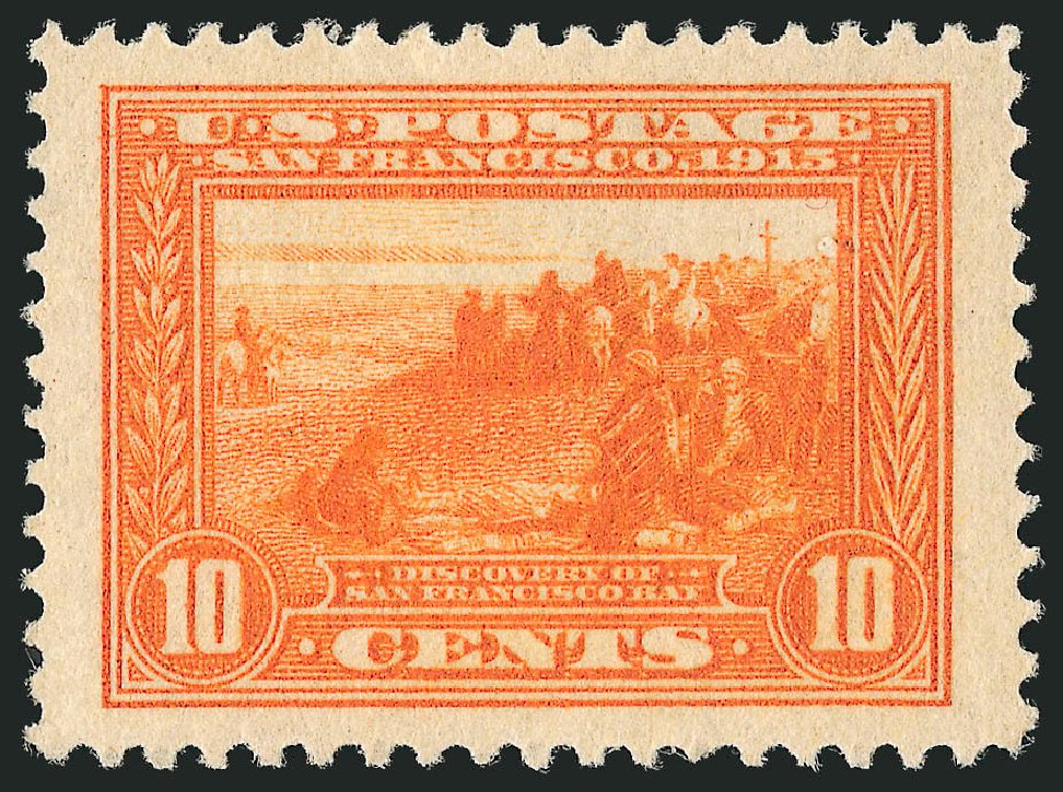 US Stamp Value Scott Catalog # 400A: 10c 1913 Panama-Pacific Exposition. Robert Siegel Auction Galleries, Feb 2015, Sale 1093, Lot 241