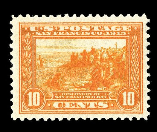 Costs of US Stamps Scott Catalog # 400A - 1913 10c Panama-Pacific Exposition. Spink Shreves Galleries, May 2014, Sale 148, Lot 291