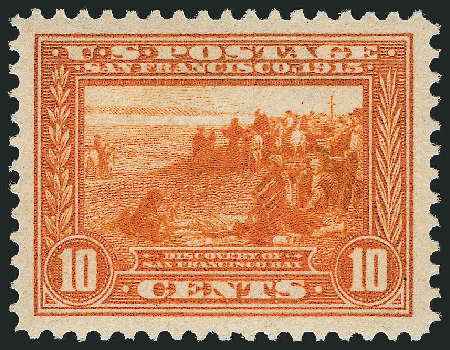 US Stamp Price Scott 400A: 10c 1913 Panama-Pacific Exposition. Robert Siegel Auction Galleries, Jun 2015, Sale 1100, Lot 85