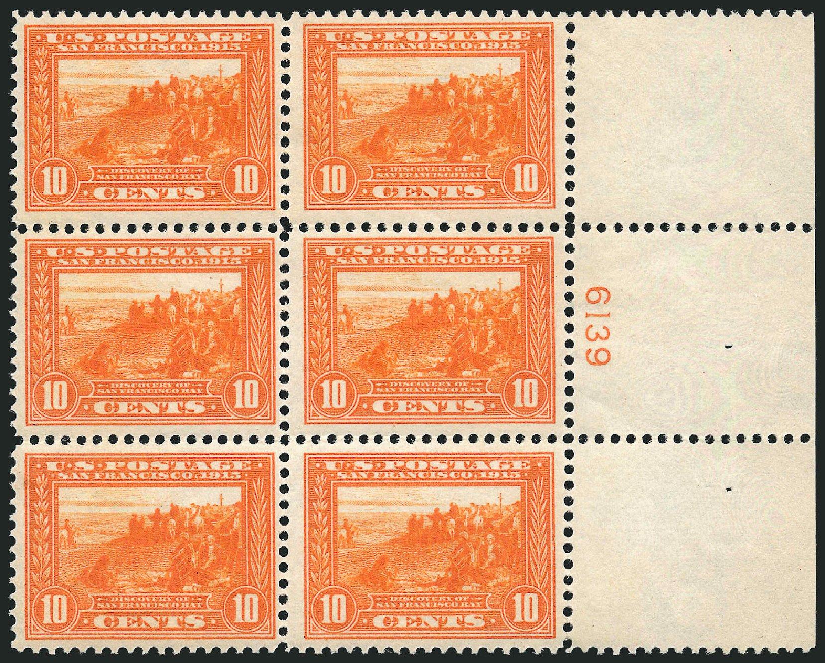 Values of US Stamps Scott Cat. #400A: 1913 10c Panama-Pacific Exposition. Robert Siegel Auction Galleries, Feb 2015, Sale 1092, Lot 1302