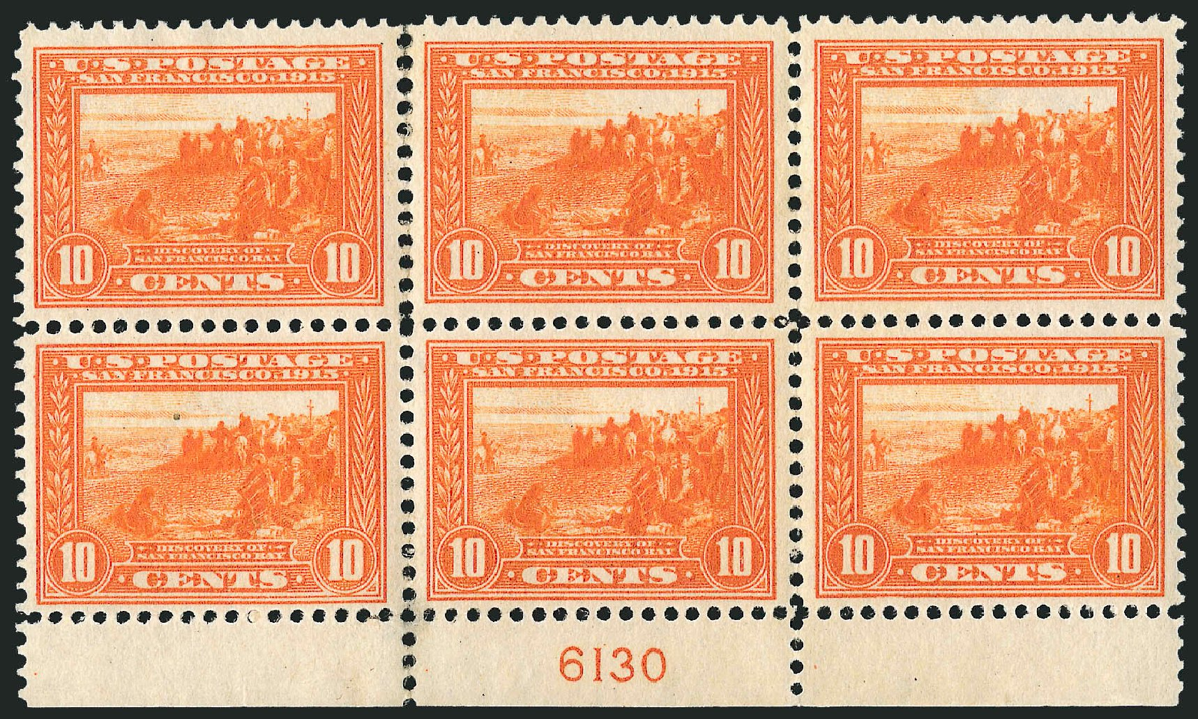 Cost of US Stamp Scott Catalog #400A: 10c 1913 Panama-Pacific Exposition. Robert Siegel Auction Galleries, Feb 2015, Sale 1093, Lot 242
