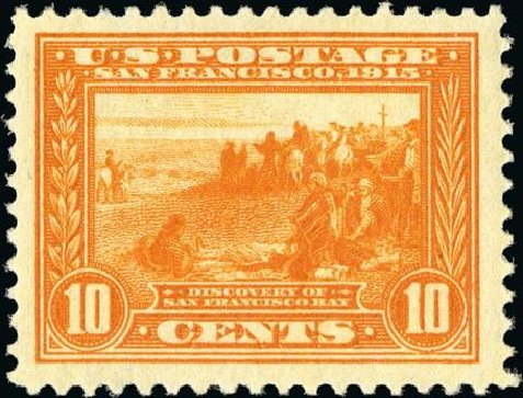 Prices of US Stamps Scott Cat. 400A: 1913 10c Panama-Pacific Exposition. Spink Shreves Galleries, Jan 2015, Sale 150, Lot 162