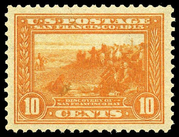 Value of US Stamp Scott Catalogue # 400A - 1913 10c Panama-Pacific Exposition. Matthew Bennett International, May 2014, Sale 350, Lot 556
