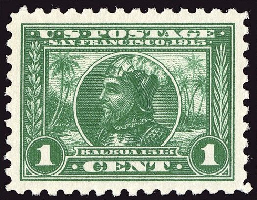 US Stamp Price Scott # 401: 1c 1915 Panama-Pacific Exposition. Spink Shreves Galleries, Jan 2014, Sale 146, Lot 398