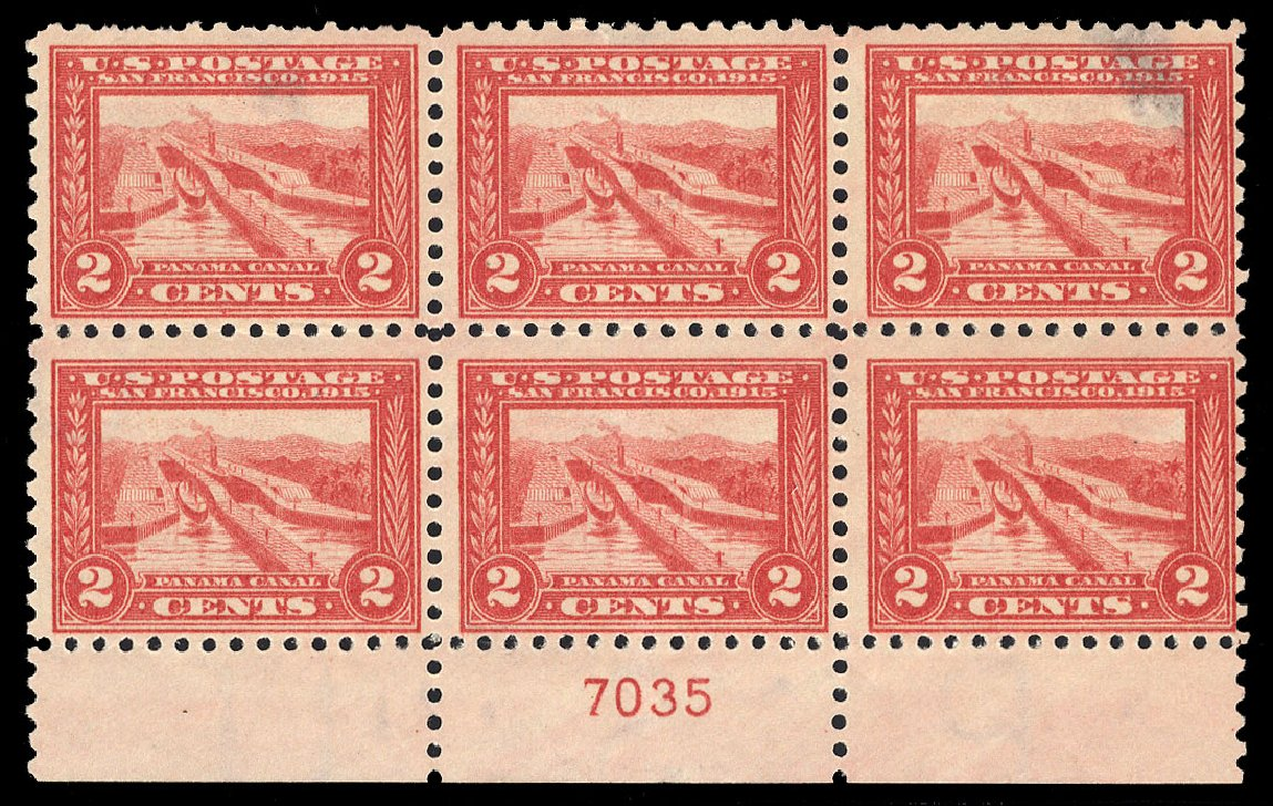 Prices of US Stamps Scott Catalog #402: 2c 1915 Panama-Pacific Exposition. Cherrystone Auctions, Jul 2015, Sale 201507, Lot 78