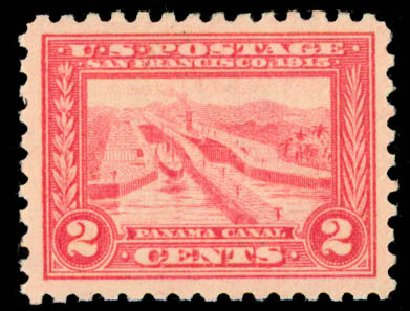Cost of US Stamps Scott # 402: 2c 1915 Panama-Pacific Exposition. Daniel Kelleher Auctions, May 2015, Sale 669, Lot 2979