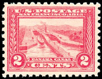 Cost of US Stamp Scott Cat. # 402 - 2c 1915 Panama-Pacific Exposition. Schuyler J. Rumsey Philatelic Auctions, Apr 2015, Sale 60, Lot 2372