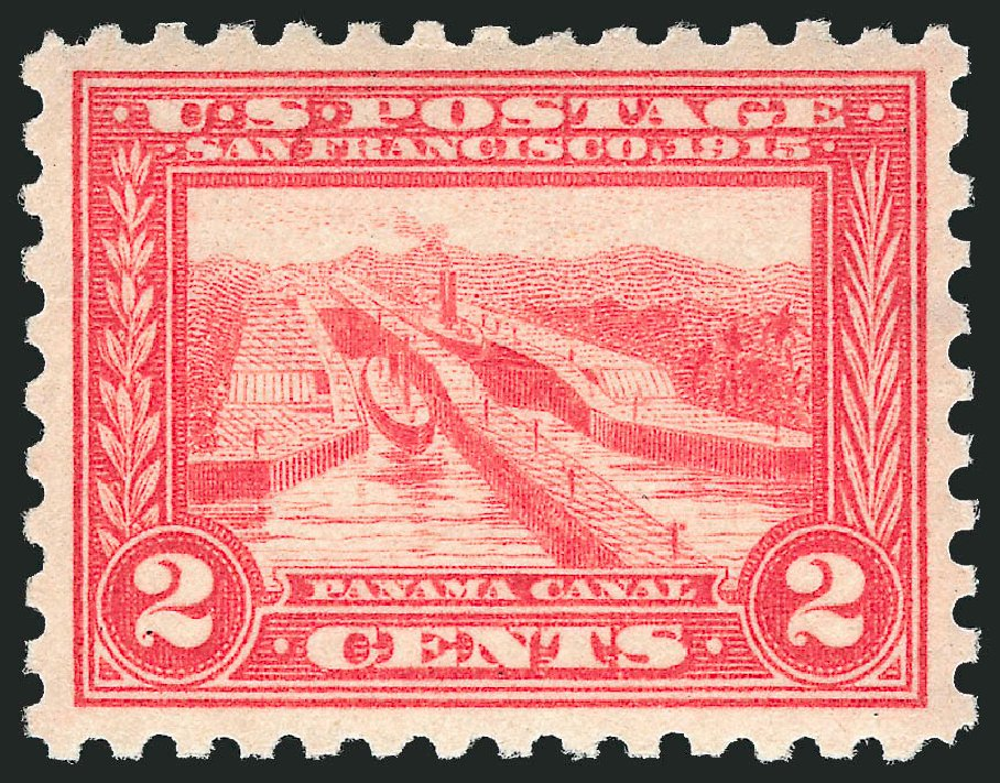 Prices of US Stamp Scott Catalog #402: 1915 2c Panama-Pacific Exposition. Robert Siegel Auction Galleries, Dec 2014, Sale 1090, Lot 1492