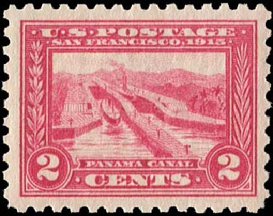 Cost of US Stamps Scott Catalogue #402 - 2c 1915 Panama-Pacific Exposition. Regency-Superior, Aug 2015, Sale 112, Lot 803