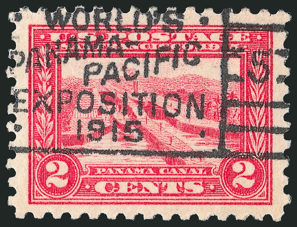 Price of US Stamps Scott 402: 2c 1915 Panama-Pacific Exposition. Robert Siegel Auction Galleries, Feb 2015, Sale 1093, Lot 246