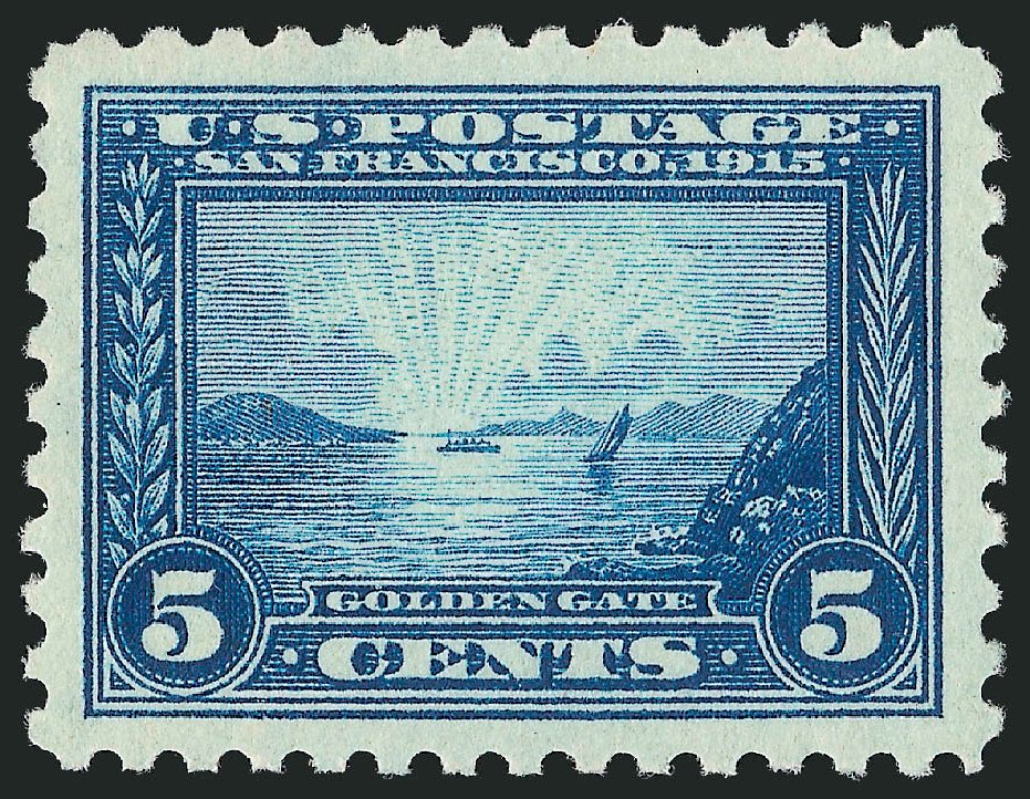 Prices of US Stamp Scott Catalog 403: 1915 5c Panama-Pacific Exposition. Robert Siegel Auction Galleries, Feb 2015, Sale 1093, Lot 247