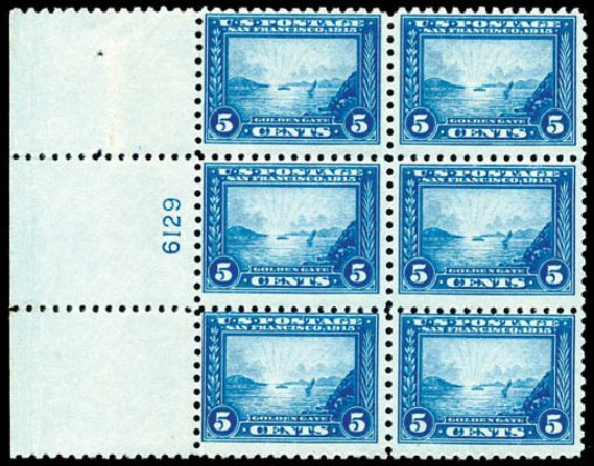 Price of US Stamp Scott Catalog 403 - 5c 1915 Panama-Pacific Exposition. Schuyler J. Rumsey Philatelic Auctions, Apr 2015, Sale 60, Lot 2920