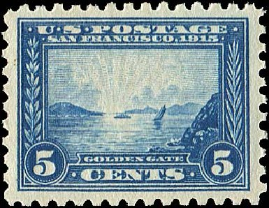 US Stamps Price Scott Cat. #403 - 5c 1915 Panama-Pacific Exposition. Regency-Superior, Jan 2015, Sale 109, Lot 1184