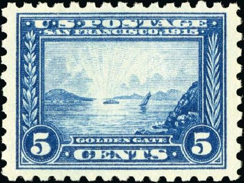 Price of US Stamp Scott Catalogue # 403: 5c 1915 Panama-Pacific Exposition. Spink Shreves Galleries, Jan 2015, Sale 150, Lot 165