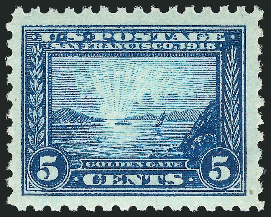 Price of US Stamps Scott 403: 1915 5c Panama-Pacific Exposition. Robert Siegel Auction Galleries, Dec 2014, Sale 1090, Lot 1493
