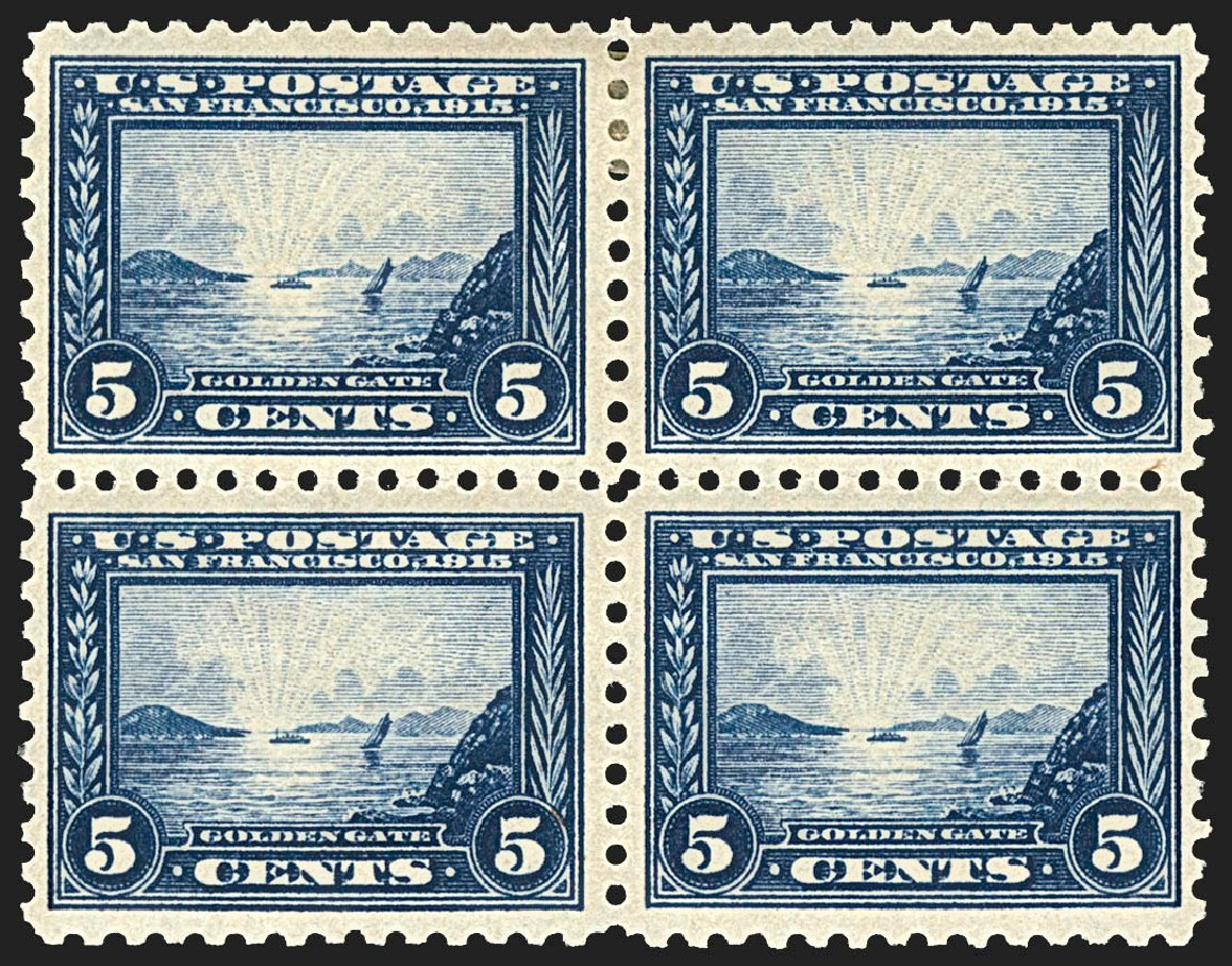 Prices of US Stamp Scott #403 - 1915 5c Panama-Pacific Exposition. Robert Siegel Auction Galleries, Jul 2015, Sale 1107, Lot 456