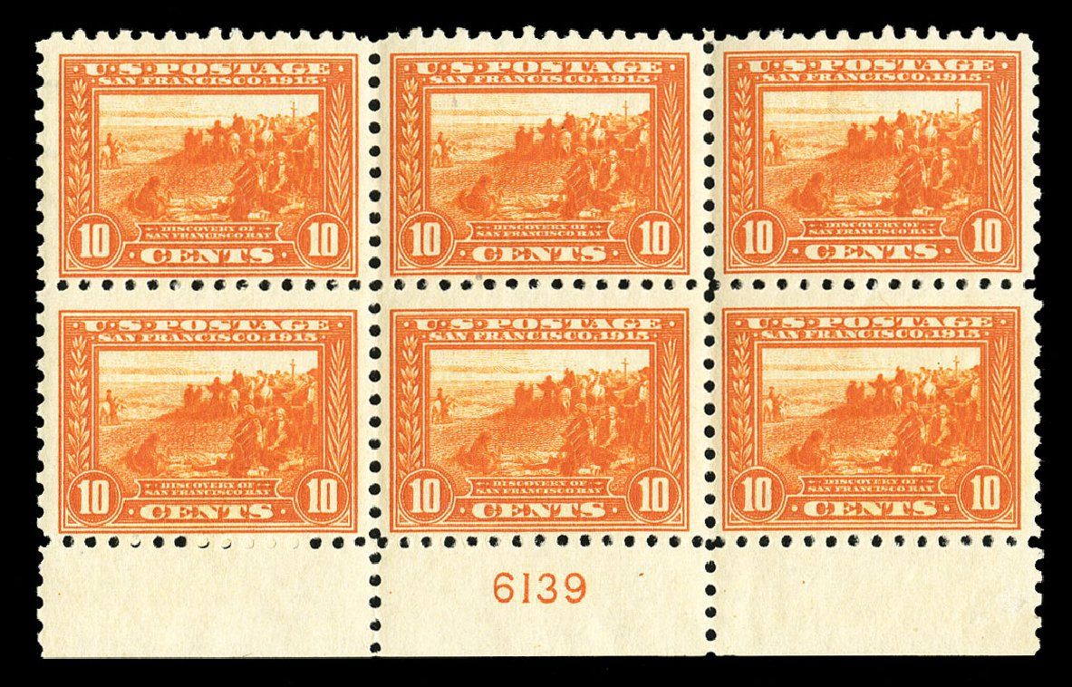 Price of US Stamp Scott Catalog # 404: 1915 10c Panama-Pacific Exposition. Cherrystone Auctions, Jul 2015, Sale 201507, Lot 2151