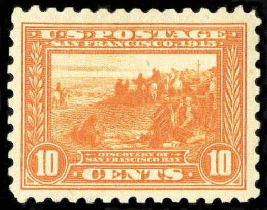 US Stamps Prices Scott # 404: 10c 1915 Panama-Pacific Exposition. Spink Shreves Galleries, Jul 2015, Sale 151, Lot 291