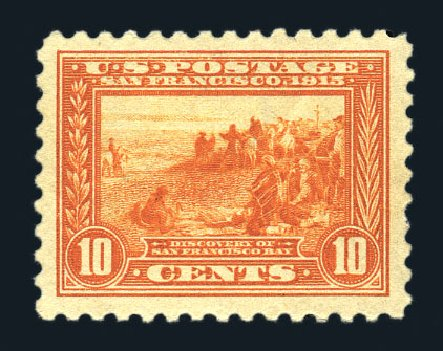Prices of US Stamps Scott Catalogue #404: 10c 1915 Panama-Pacific Exposition. Harmer-Schau Auction Galleries, Aug 2015, Sale 106, Lot 1804