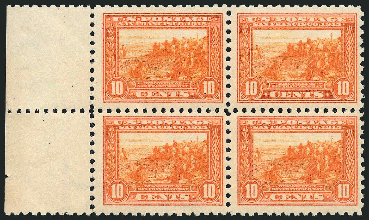 US Stamp Price Scott Catalog #404 - 1915 10c Panama-Pacific Exposition. Robert Siegel Auction Galleries, Apr 2015, Sale 1096, Lot 655