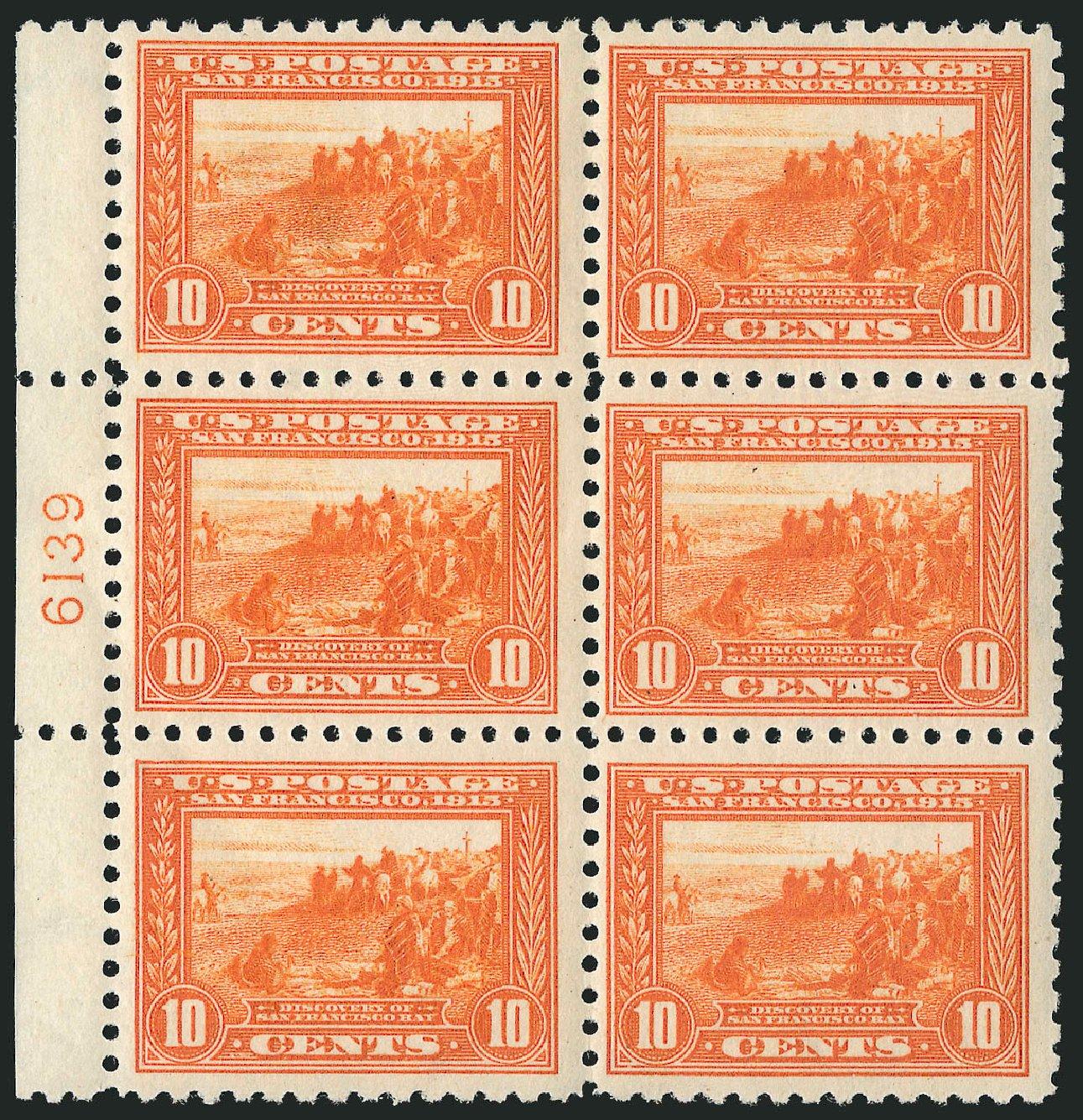 US Stamps Values Scott Cat. #404: 10c 1915 Panama-Pacific Exposition. Robert Siegel Auction Galleries, Apr 2015, Sale 1096, Lot 656