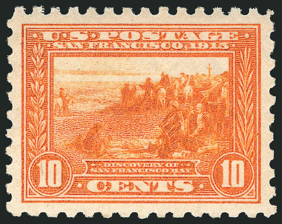 US Stamps Values Scott 404 - 10c 1915 Panama-Pacific Exposition. Robert Siegel Auction Galleries, Jun 2015, Sale 1100, Lot 86