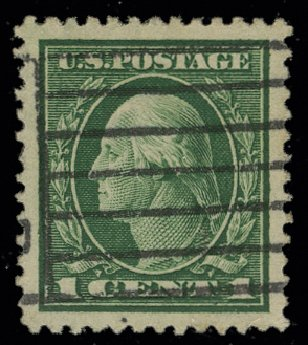 Value of US Stamps Scott Catalogue 405: 1912 1c Washington Perf 12. H.R. Harmer, May 2014, Sale 3005, Lot 1267