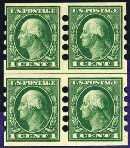 Value of US Stamps Scott Catalog #408: 1912 1c Washington Imperf. Harmer-Schau Auction Galleries, Aug 2011, Sale 90, Lot 1879