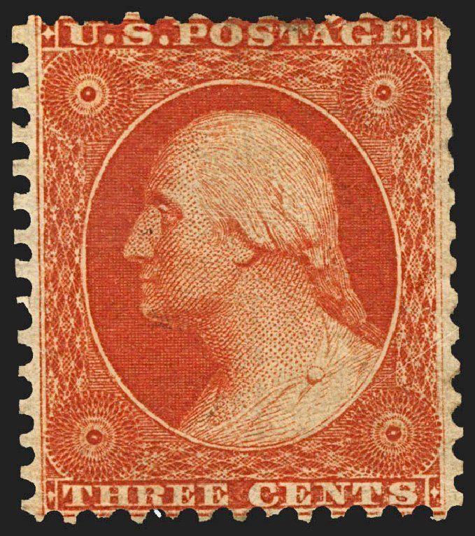 Prices of US Stamps Scott Catalogue 41 - 3c 1875 Washington Reprint. Robert Siegel Auction Galleries, Jul 2015, Sale 1107, Lot 110